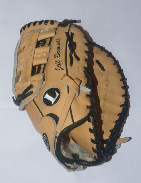 Bagwell Backup Louisville Fielder's Glove - Front View