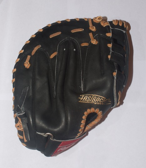 Bagwell Issued Rawlings Glove - Back View